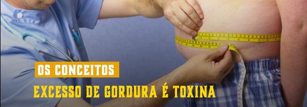 Excesso de gordura é toxina