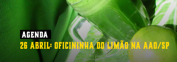 26 abril: Oficininha do Limão