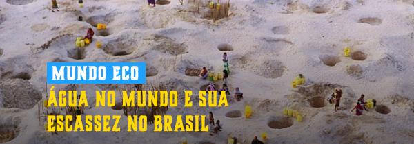 Água no mundo e sua escassez no Brasil