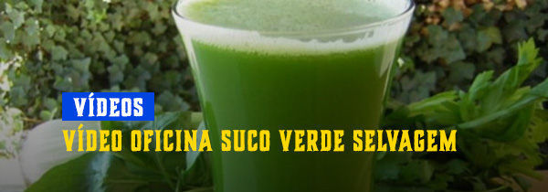 Suco verde selvagem