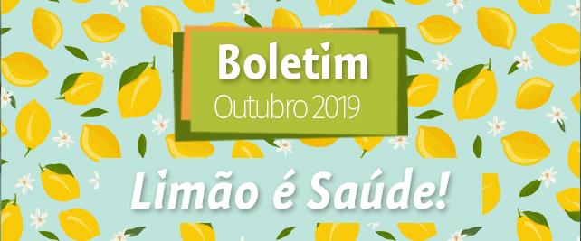 Boletim Outubro 2019
