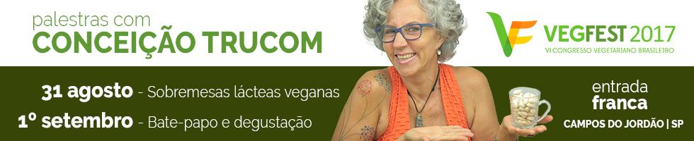 Conceição Trucom no VegFest 2017